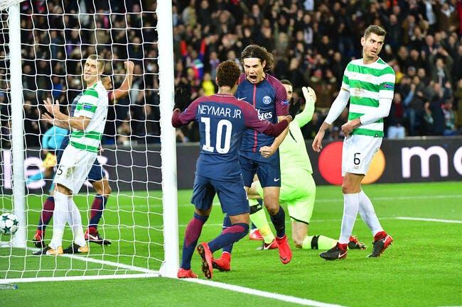 LdC : Le PSG comme un ouragan qui est passé sur le Celtic !
