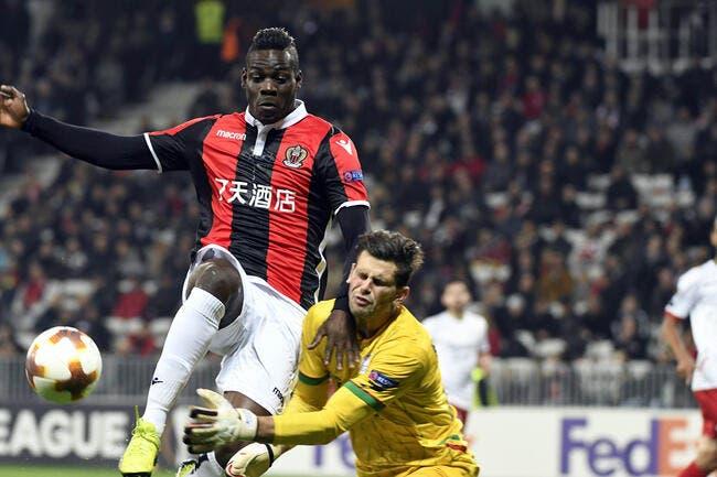 OGCN : Favre écrit l'histoire à Nice, merci Balotelli