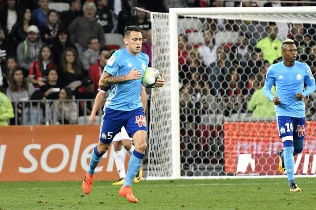 L1 : L'OM remporte un match fou à Nice et monte sur le podium