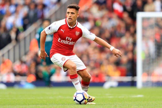 Arsenal pense à un échange pour laisser Sanchez au PSG