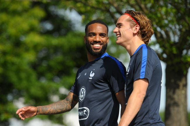 Lacazette envoie un message à Griezmann — Arsenal