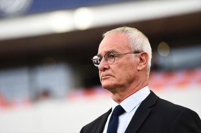 Ranieri ne veut plus parler du mercato — Nantes