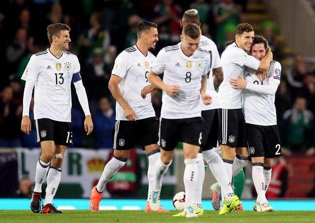 CdM 2018 : L'Allemagne et l'Angleterre sont qualifiées !