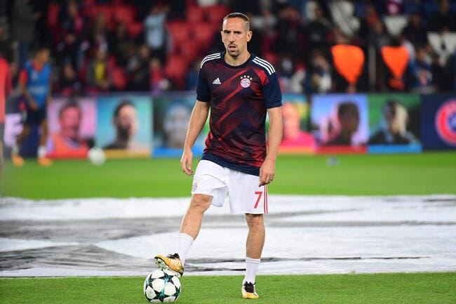 «Kaiser Franck» Ribéry s'accroche à son trône au Bayern