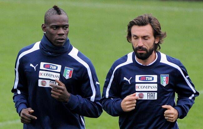 Pirlo imagine déjà Balotelli sauver l'Italie aux barrages