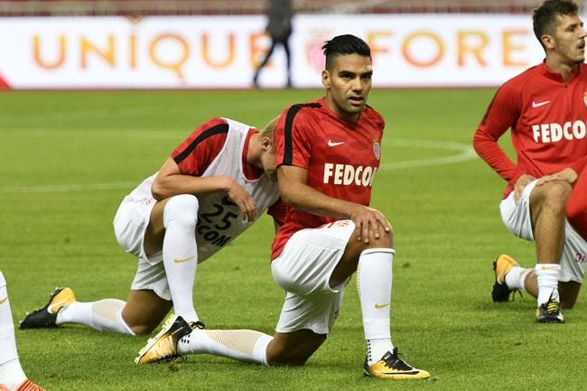Radamel Falcao ne jouera pas face à Lyon — Monaco