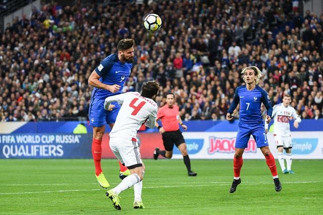 EdF : Pierre Ménès flatte Giroud et calme Griezmann