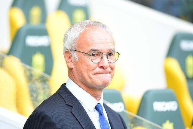 FCN: La Ligue 1, c'est devenu sérieux constate Ranieri