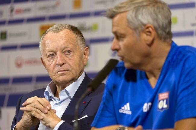 OL : Aulas maintient «sa confiance absolue» en Bruno Genesio