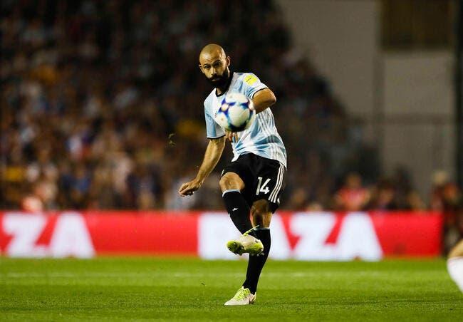 Mascherano prendra sa retraite internationale après le Mondial