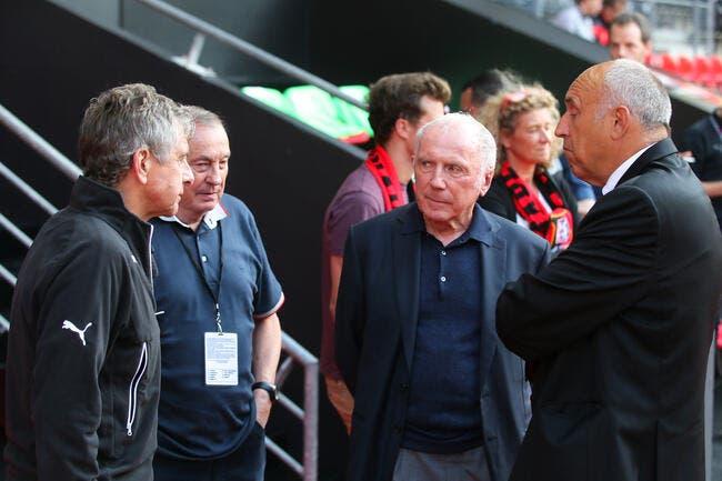 Stade Rennais : Christian Gourcuff dirige l'entraînement et René Ruello présent