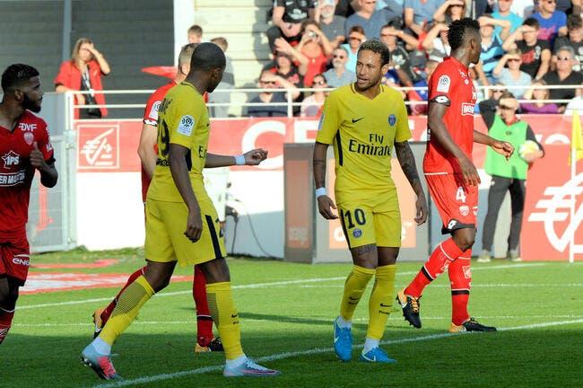 Bousculé à Dijon, le PSG peut remercier Meunier