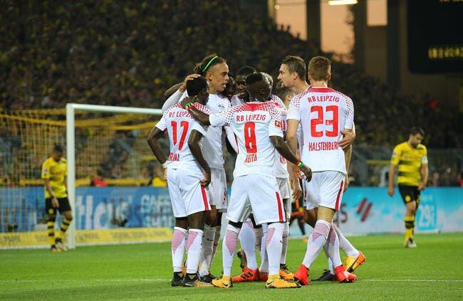 Leipzig gagne à Dortmund avec Augustin — Bundesliga