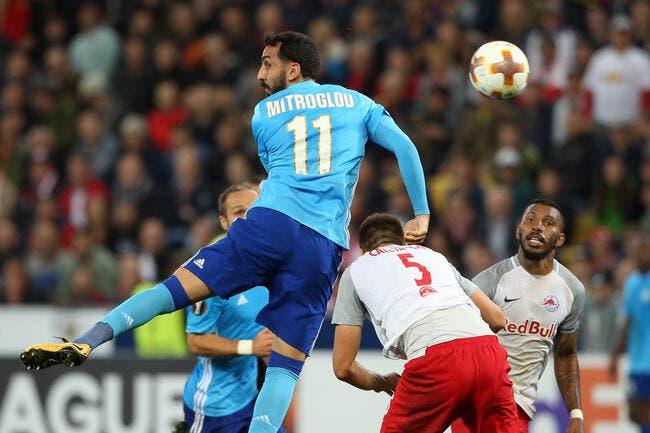 Strasbourg - OM : Garcia juge la première en Ligue 1 de Mitroglou