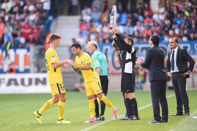 PSG : Frustré, Meunier se plaint de l'image de Dani Alves