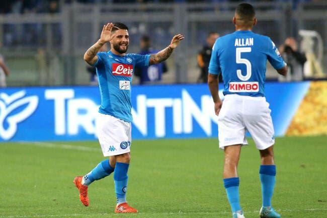 Serie A : Naples poursuit son sans faute à Rome