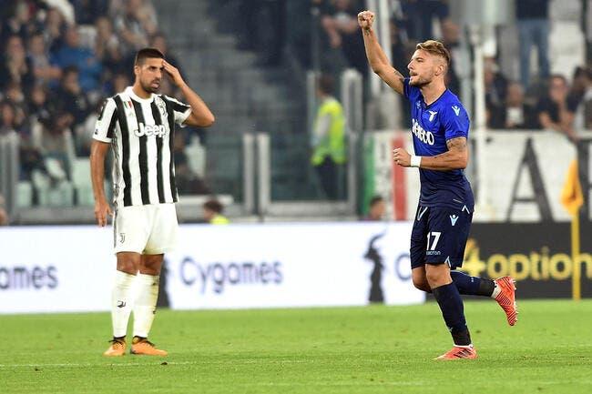 Serie A : Première chute pour la Juventus contre la Lazio