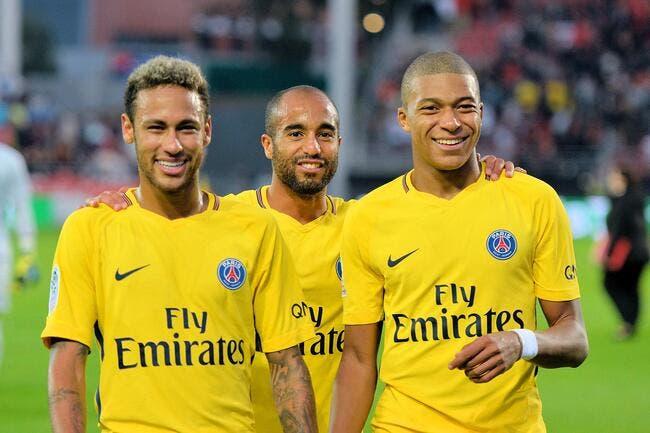 PSG : Mbappé en équipe du Brésil, il en rêve