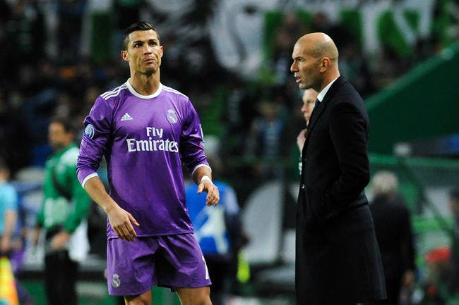 Esp : Le flamboyant hommage de Zinedine Zidane à Cristiano Ronaldo !