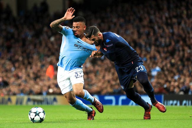 Manchester City – Naples 2-1