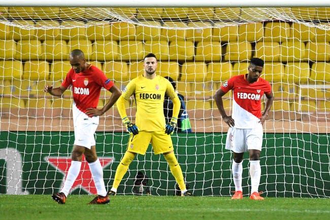 Monaco, ça ne rigole plus du tout en Ligue des Champions