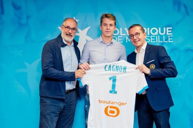 L1 - OM : Romain Cagnon signe un an