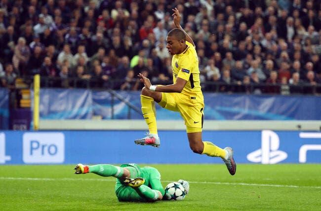 Anderlecht - PSG : 0-4