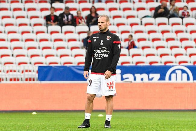Nice: Favre laisse enfin Sneijder sortir du placard