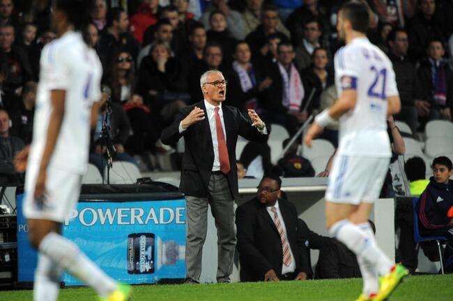 OL : Ranieri ne refuse pas d'avance une offre d'Aulas pour l'OL