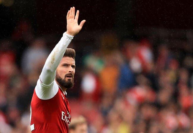 EL : Arsenal remercie Giroud à Belgrade