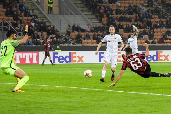 EL : L'AC Milan cale contre l'AEK