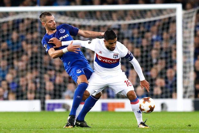 Everton - OL : 1-2