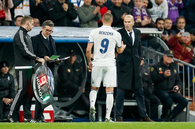 Benzema «surcoté», Zidane perd son calme légendaire