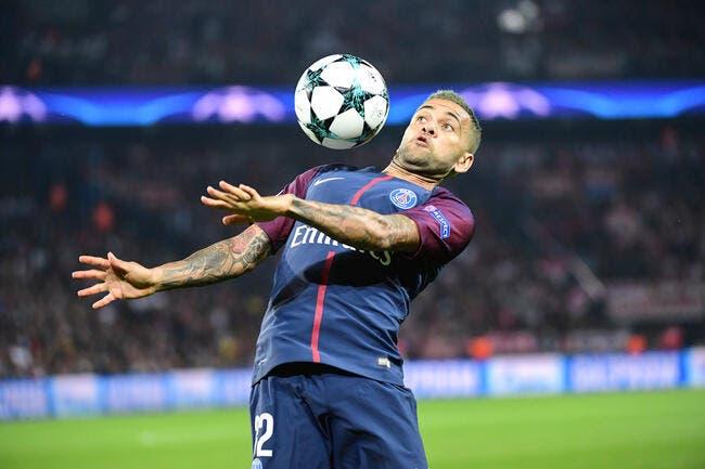 PSG : Le PSG sans Daniel Alves mais avec Thiago Silva contre l'OM