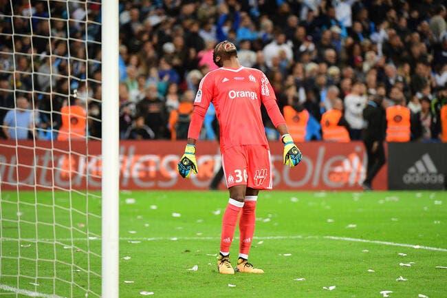 OM : Mandanda « n'a pas vu un grand PSG », mais un Cavani chanceux