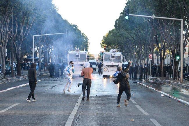 OM-PSG : Les supporters s'attaquent à la police, cinq interpellations