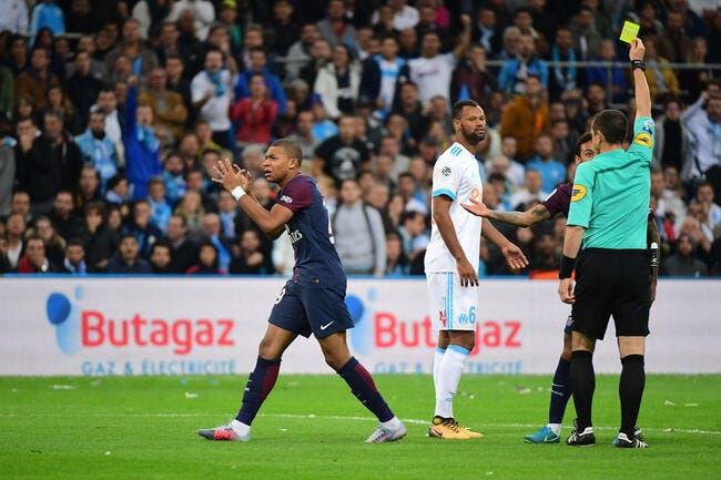 PSG : Mbappé rate tout contre l'OM... même le carton rouge