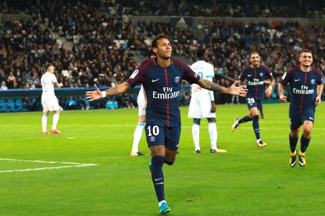 PSG : L'OM a vu le meilleur et le pire de Neymar