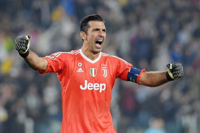 FIFA : Gianluigi Buffon meilleur gardien de l'année 2017