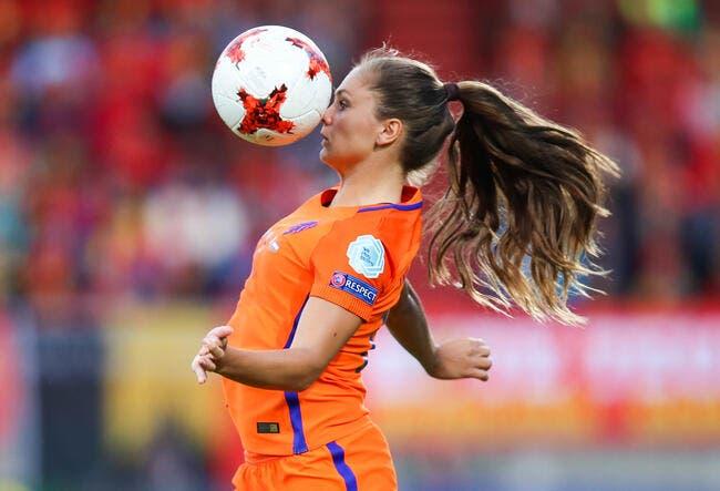 FIFA : Lieke Martens joueuse de l'année 2017