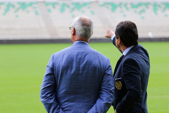 FCN: Kita stoppe le délire Ranieri