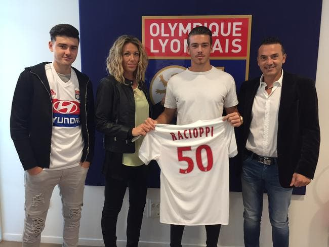 Officiel: L'OL fait signer pro Anthony Racioppi