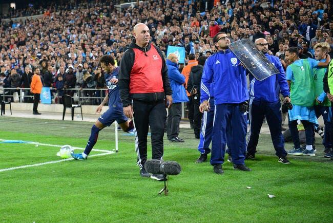 OM: Les projectiles sur Neymar font moins mal, le club se félicite