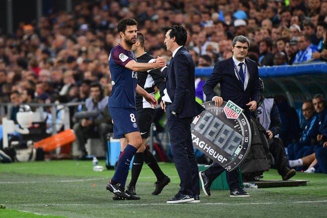 PSG : Thiago Motta forfait contre Nice