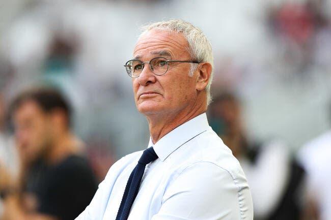 FCN: Dans la difficulté, Ranieri veut des «Cristiano Ronaldo»