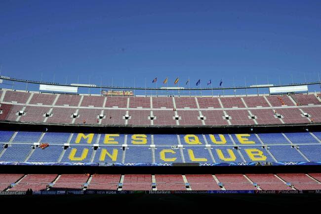 Non, le Camp Nou du Barça ne s'appellera pas Grifols