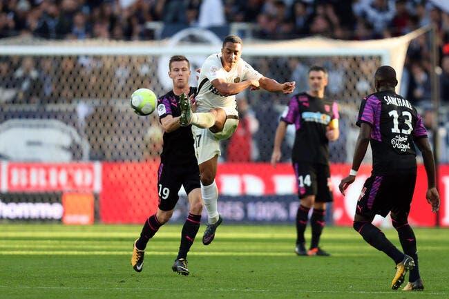 Bordeaux - Monaco : 0-2