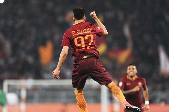 Serie A : L'AS Rome remercie El Shaarawy