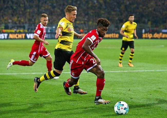 Coupe d'Allemagne : Un choc Bayern - Dortmund en huitièmes