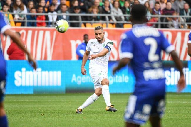 ASSE : Loïc Perrin forfait pour le derby face à l'OL !